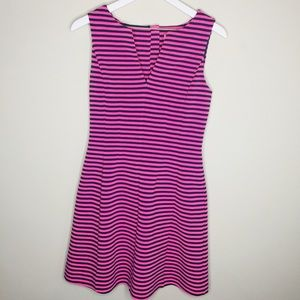 Fit Flare Lilly Pulitzer Dress  Striped Sleeveless